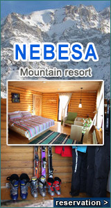 Nebesa Hotel Chimgan mountains