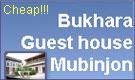 Mubindzhan guest house. Bukhara